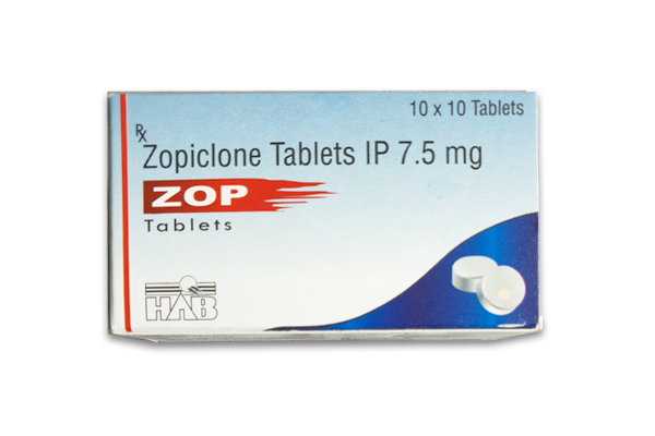Zopiclone ZOP HAB Tablets